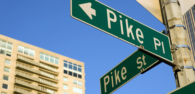 Pike Place street sign